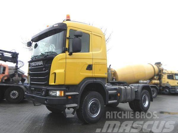 Scania G440 CA 4x4 (E5) Allrad-SZM+Kipphydraulik, full sp