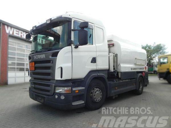 Scania R 440 (E5) Tankwagen A3 Lindner&Fischer Oben+Unte