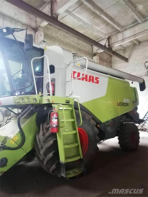 CLAAS LEXION 670, 4WD