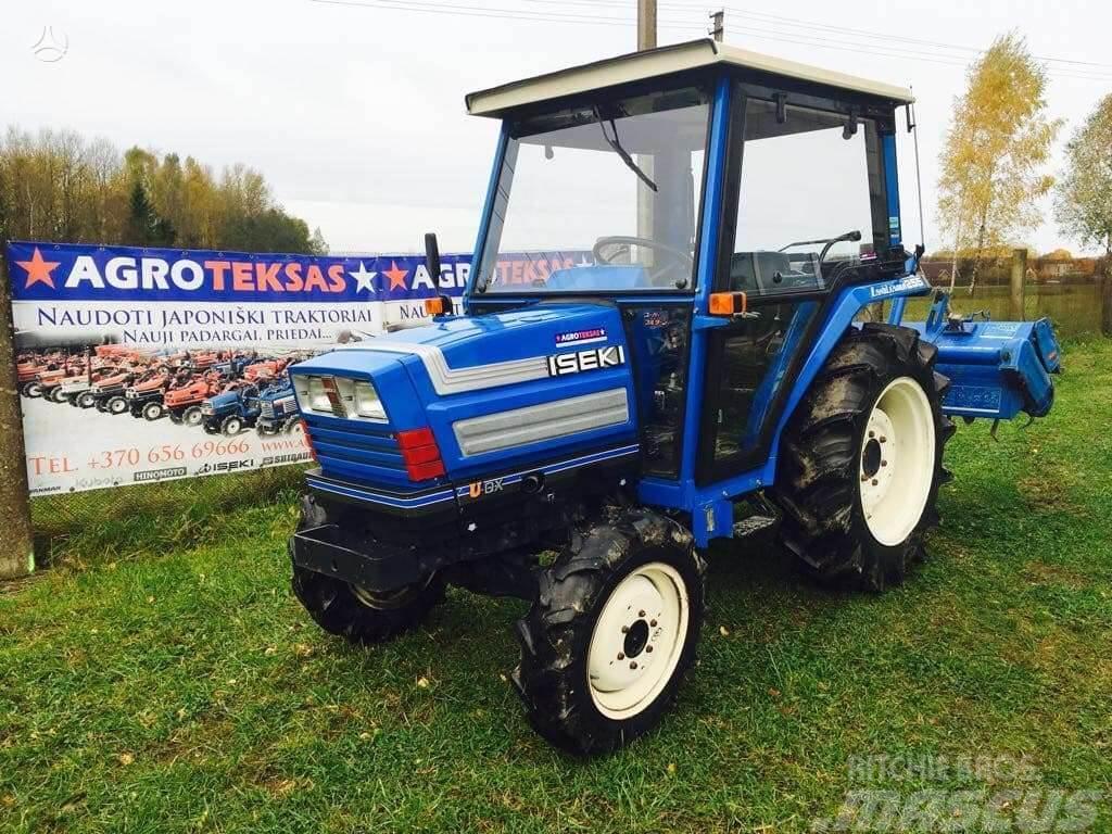 Iseki Mini traktoriai iš Japonijos |