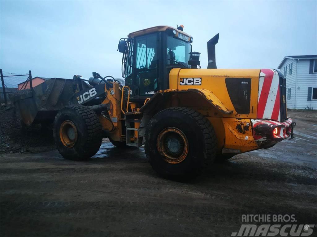 JCB zx 456 Naujos padangos