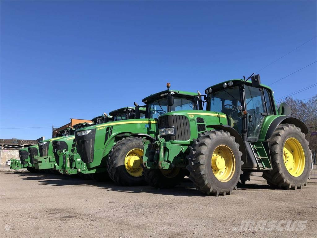 John Deere Traktorių nuoma