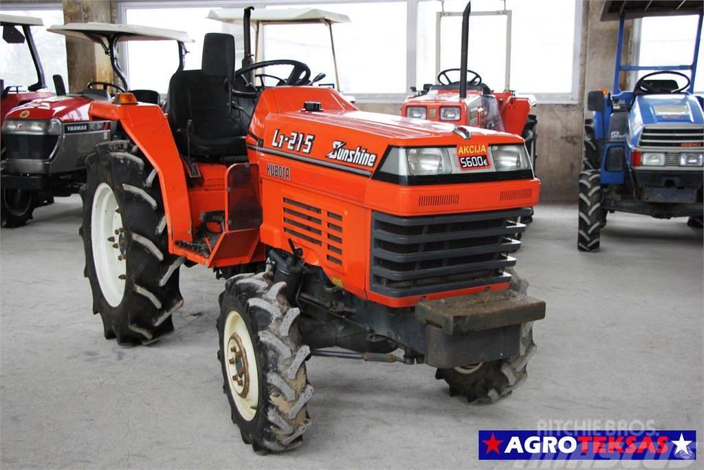Kubota L1-215 mini traktoriukai | AGR