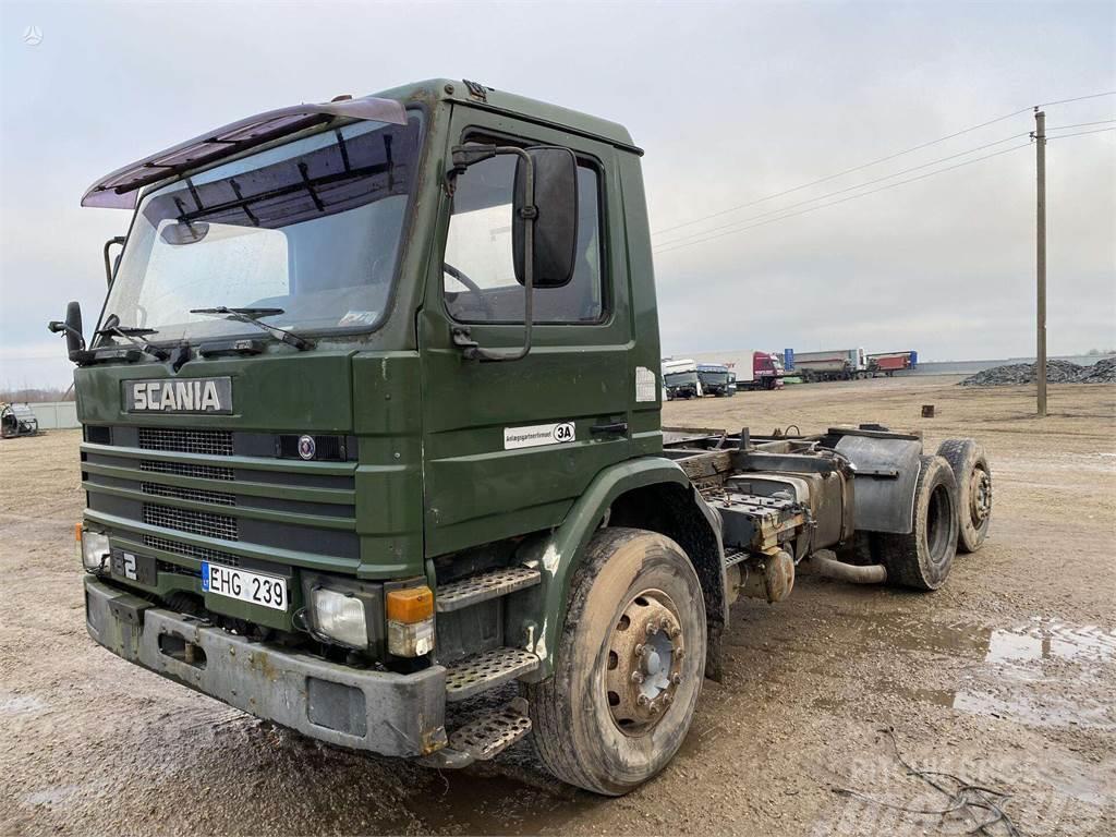 Scania 82 M 6x2 hidraulika