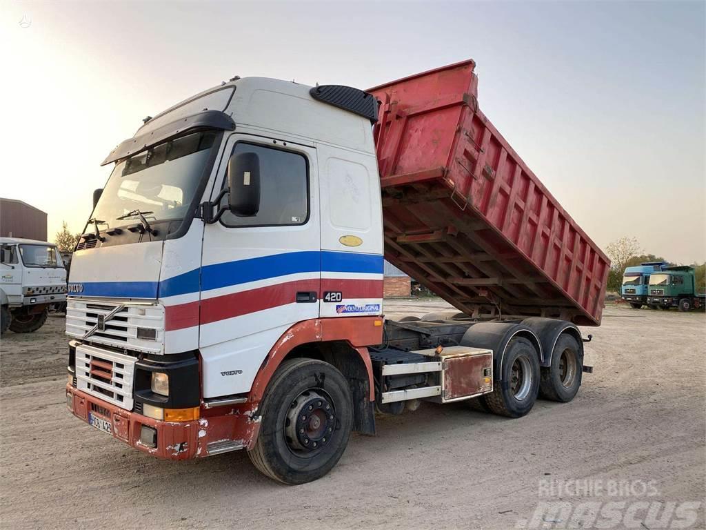Volvo FH12 420 cilindras priekyje