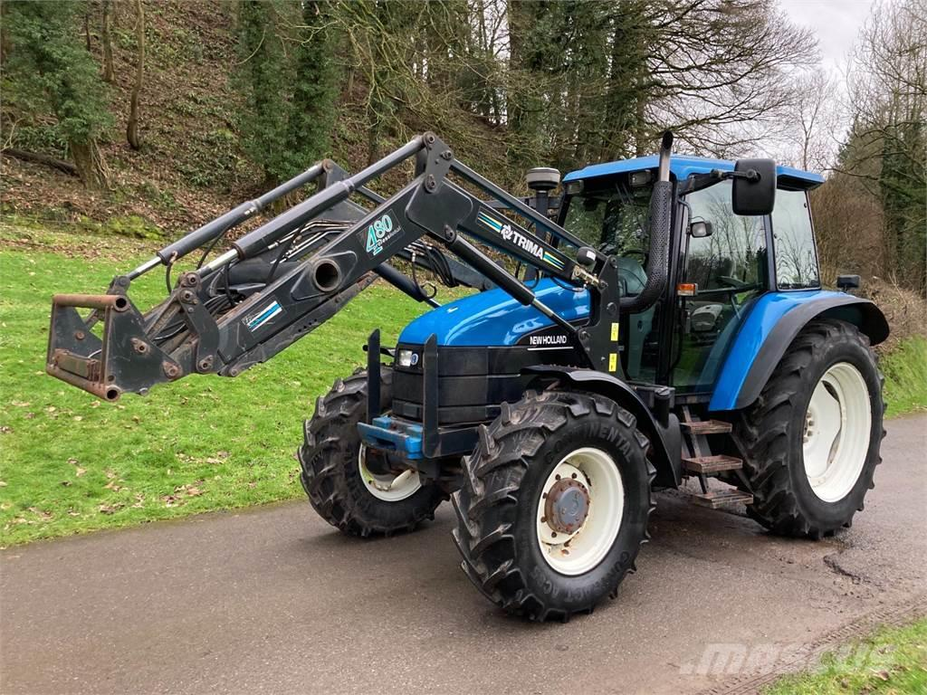 New Holland TS115 SLE c/w Trima 480 Loader