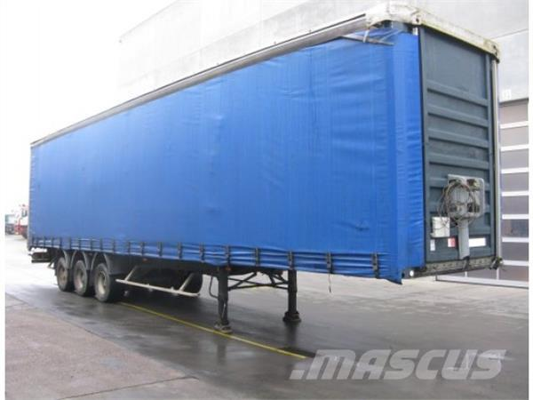GENERAL-TRAILER TX34, 2002, Kapelltrailer