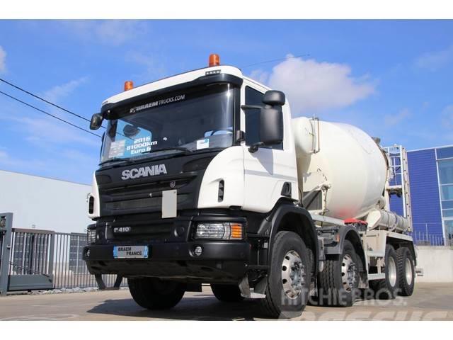 Scania P410+ STETTER 9M3 + PNEUS NEUF