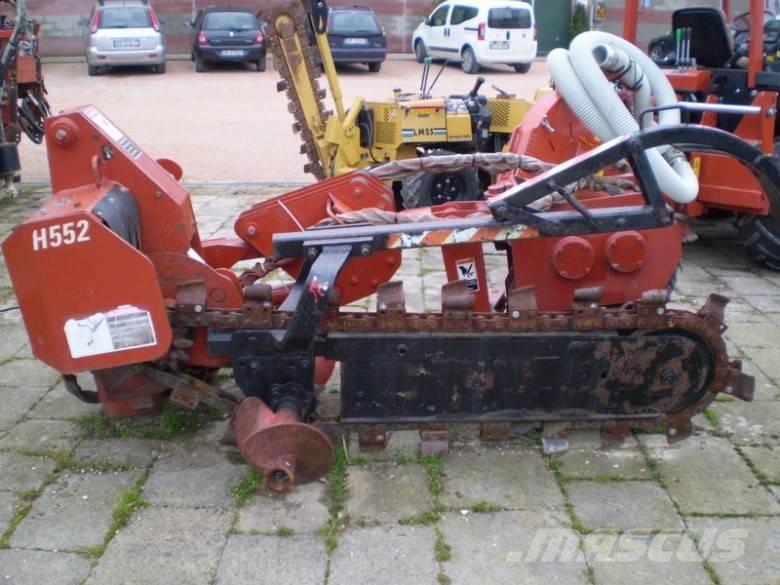 Ditch Witch modulo combo catena/interratore H 552