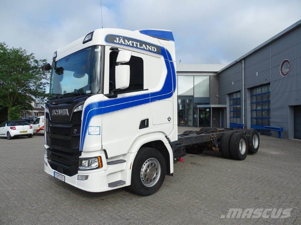 Scania N.G.S. R580 / AUTOMATIC / BOOGIE / EURO-6 / 2017