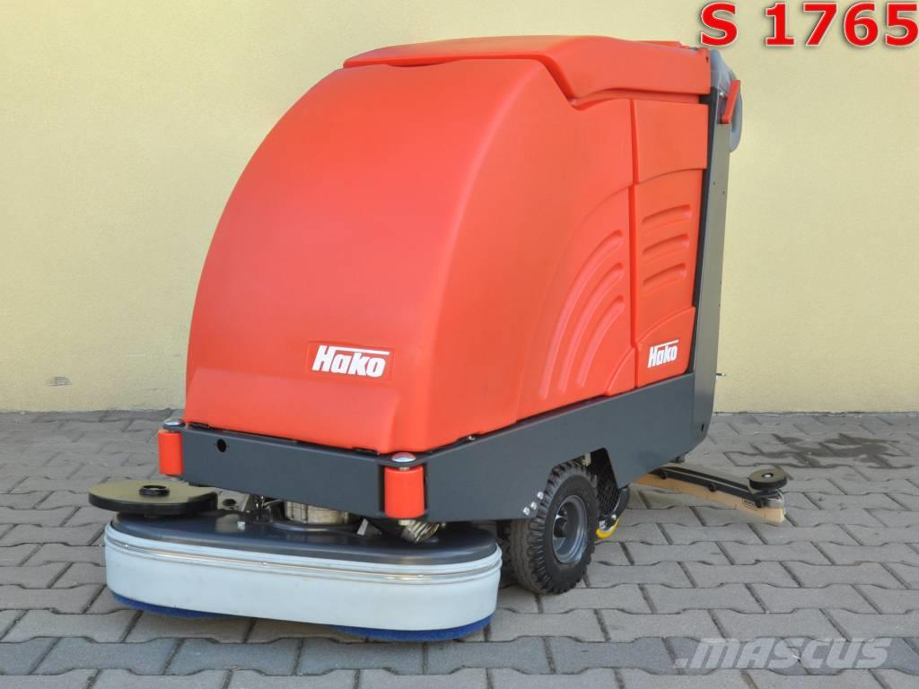 [Other] Scrubber dryer HAKO HAKOMATIC B 655 S
