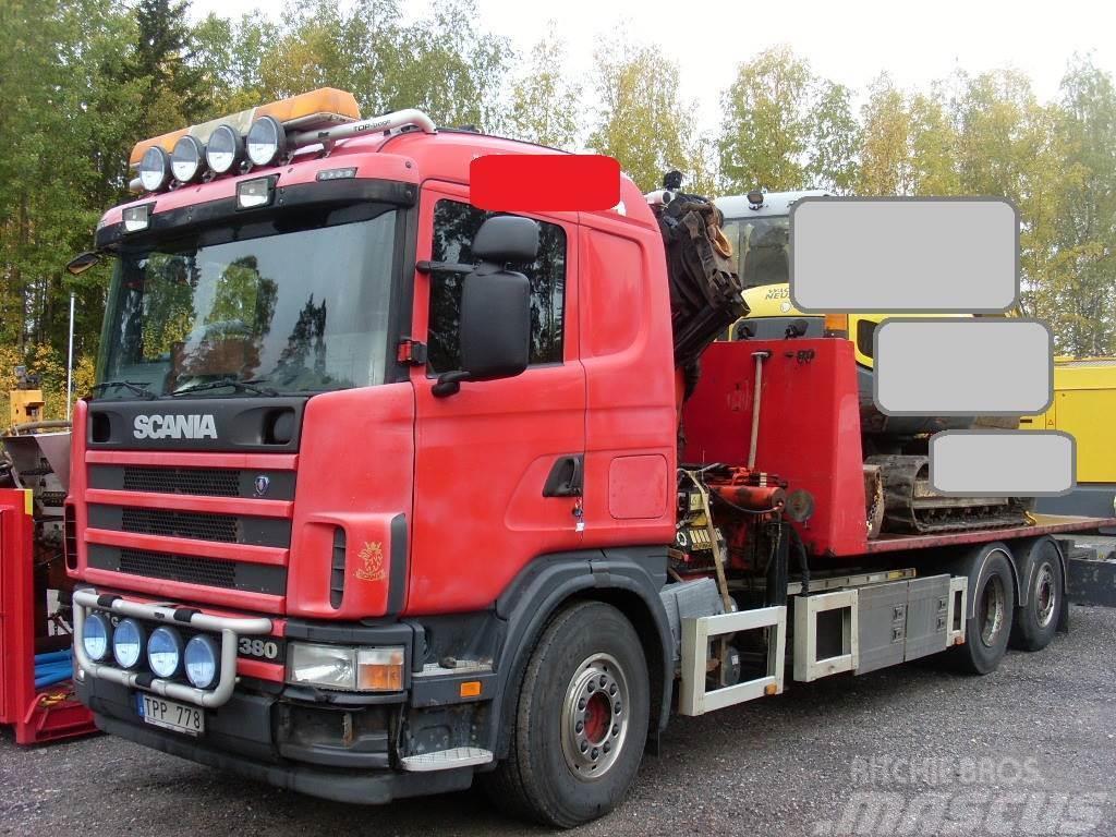 Scania R 114GB6X2*4NA380
