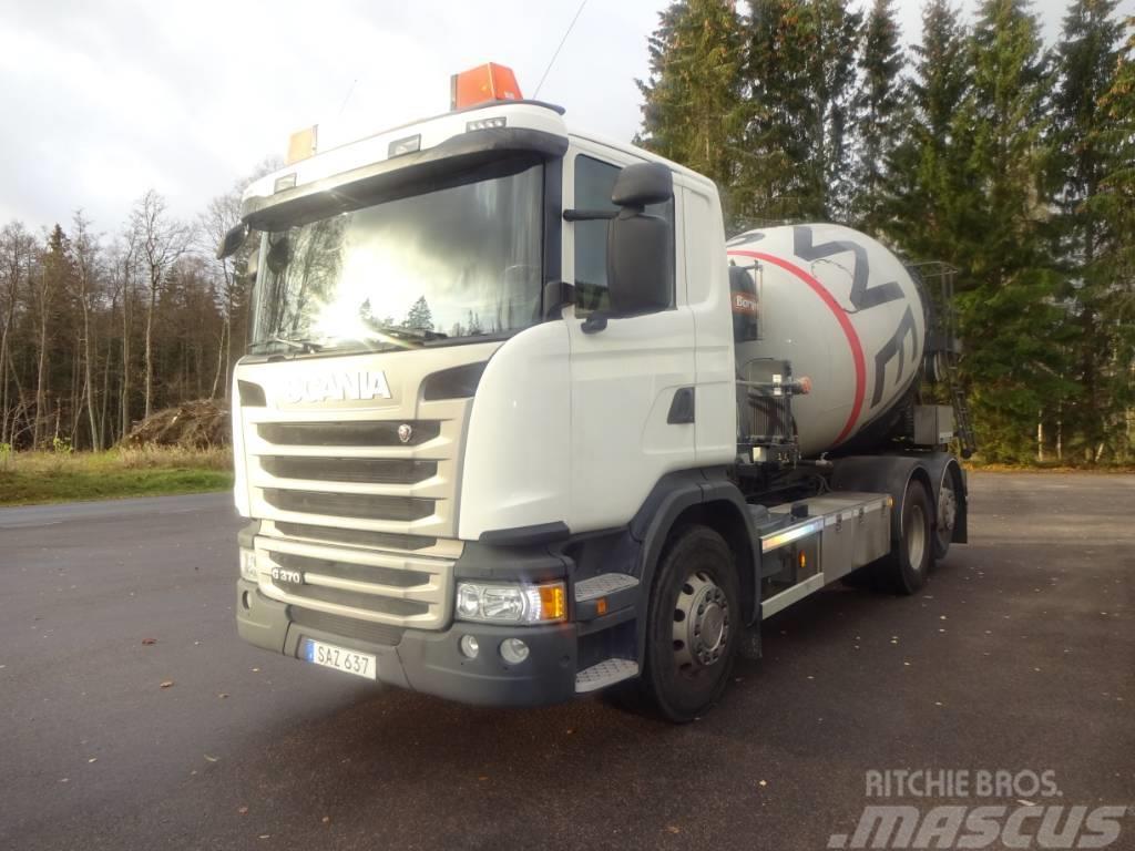 Scania EURO6 G370lb6x2*4mna
