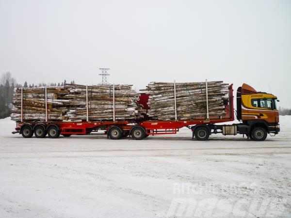Benalu Timmertrailer 3470 kg ! TIMMER SEMI TRAILER VIKT 3