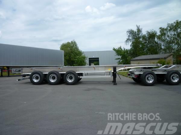 Benalu Timmertrailer 3470 kg ! TIMMER SEMI TRAILER VIKT 3, 2017, Timmertrailer