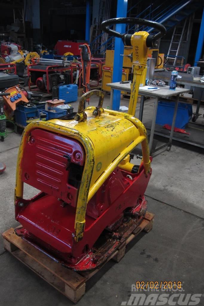 Weber CR 5 Rüttelplatte Bodenverdichter 281 KG