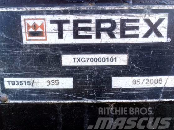 PowerScreen Chieftain 2100 X (Crawler Tracks), 2008, Sorteringsverk