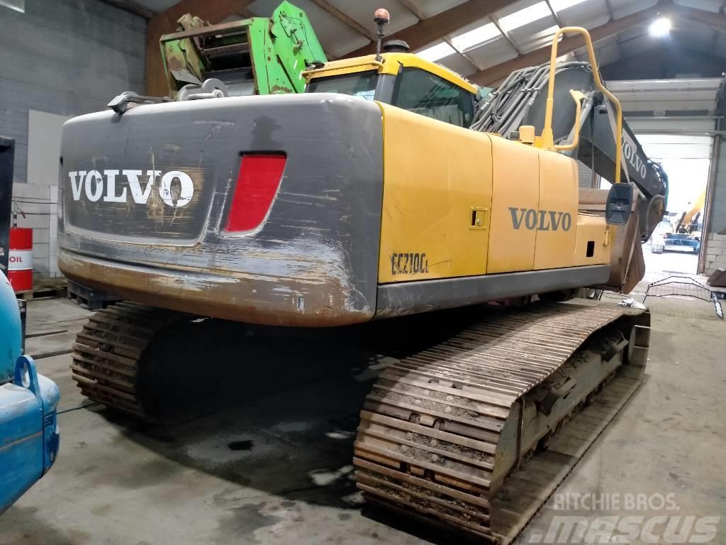 Volvo EC 210 C L excavator graafmachine bagger koparka