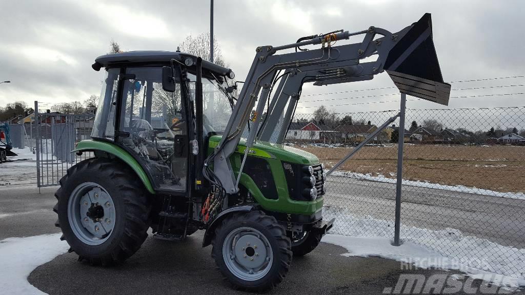 [Other] Traktor 50 hk 4*4 med lastare