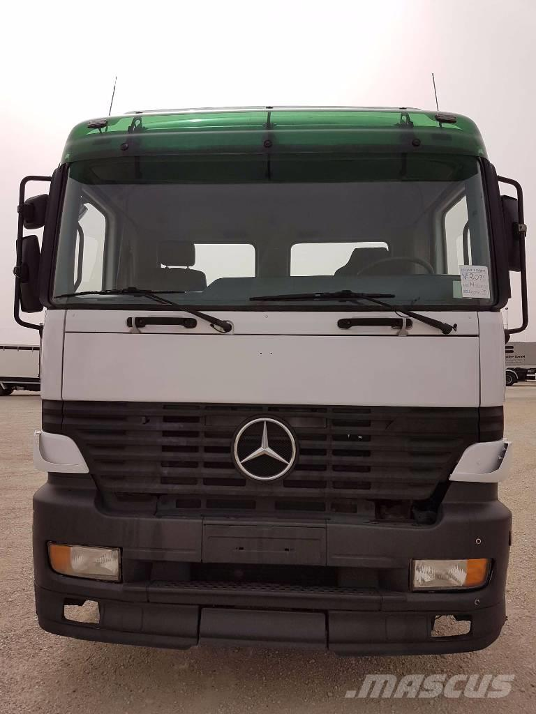 Mercedes-Benz Actros 2540 L, 2003, Container Trucks ...