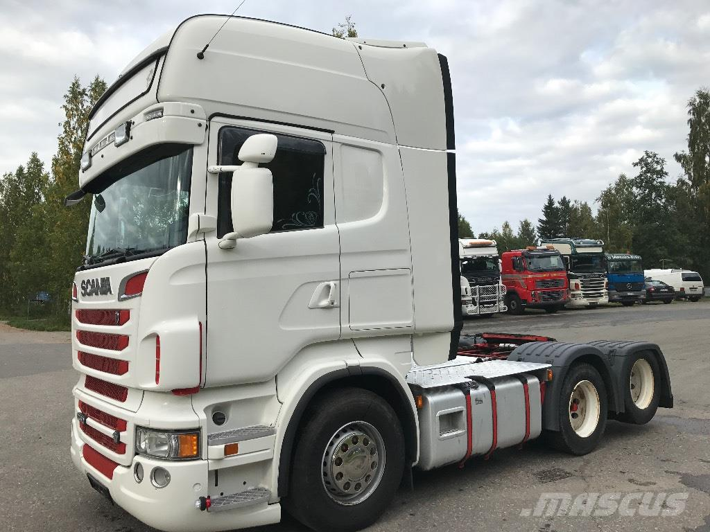 used scania r 560 6x2 topline tractor units year 2012 price 49 635 for sale mascus usa. Black Bedroom Furniture Sets. Home Design Ideas