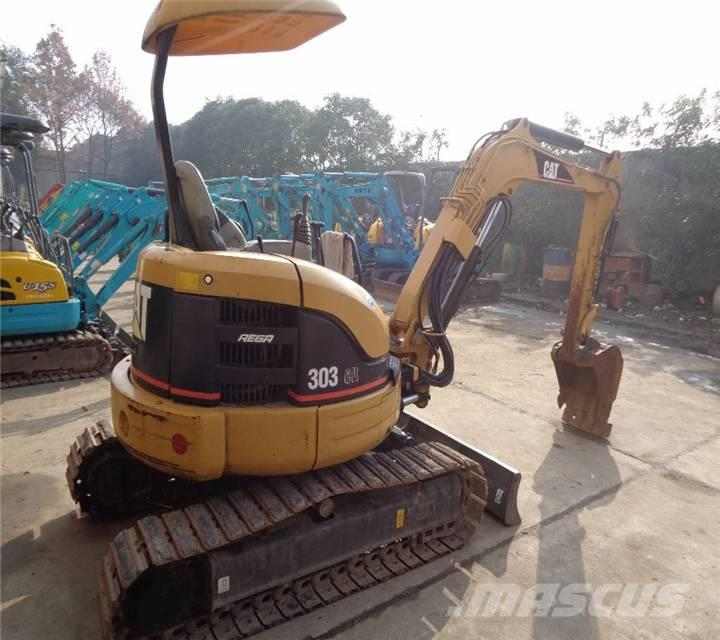 Caterpillar used hot excavator 303 CR