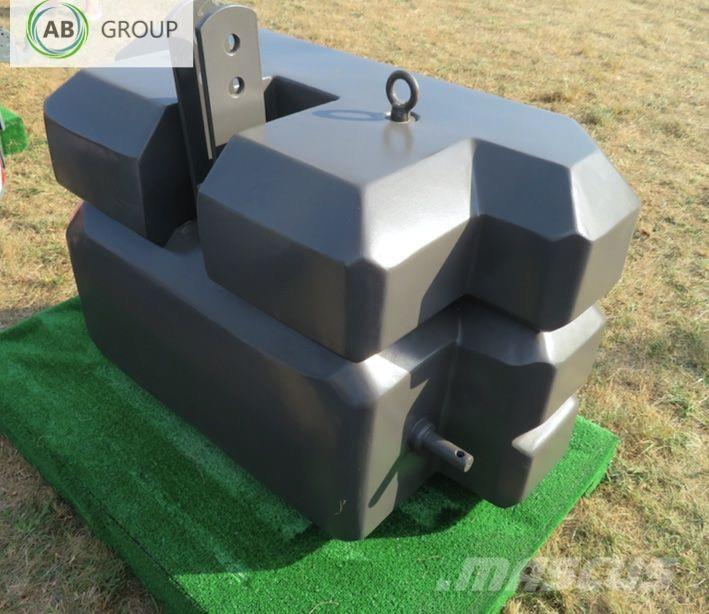 [Other] Kaber Counterweight/Kaber Magnetitgewicht 750 kg