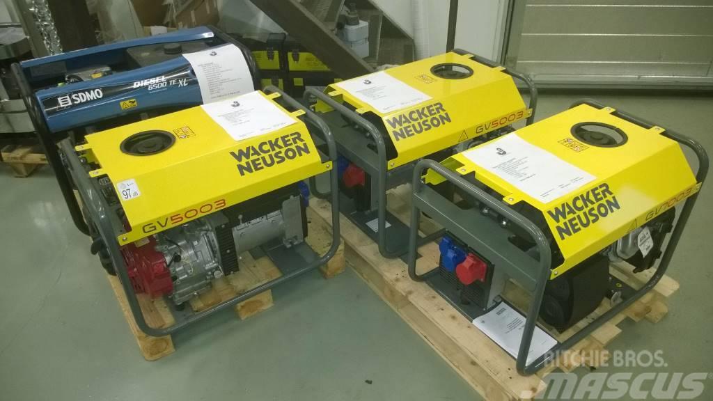 Wacker Neuson Generaattorit