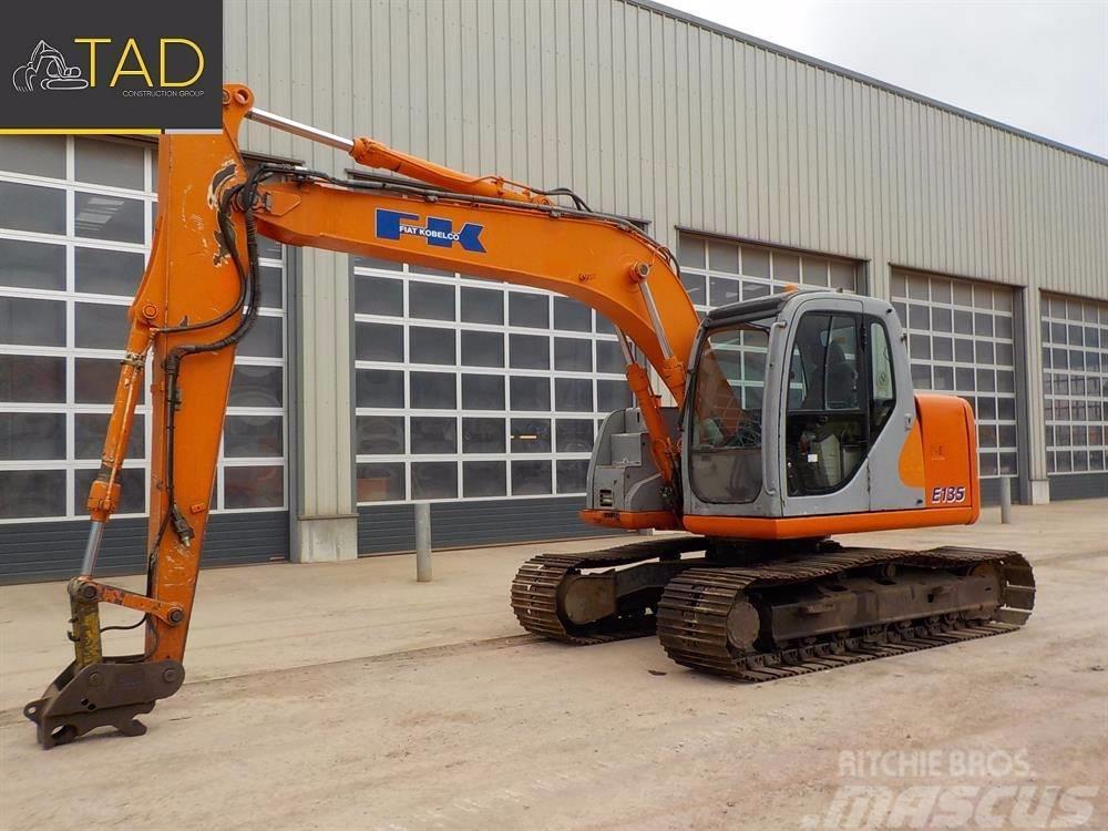 Used Fiat-Kobelco E 135 crawler excavators Year: 2004 ...