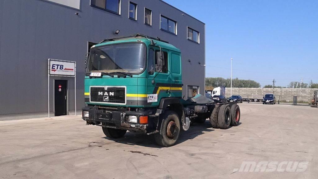 MAN 24.362 (6X4 / FULL STEEL / 6 CYLINDER / MANUAL PUM
