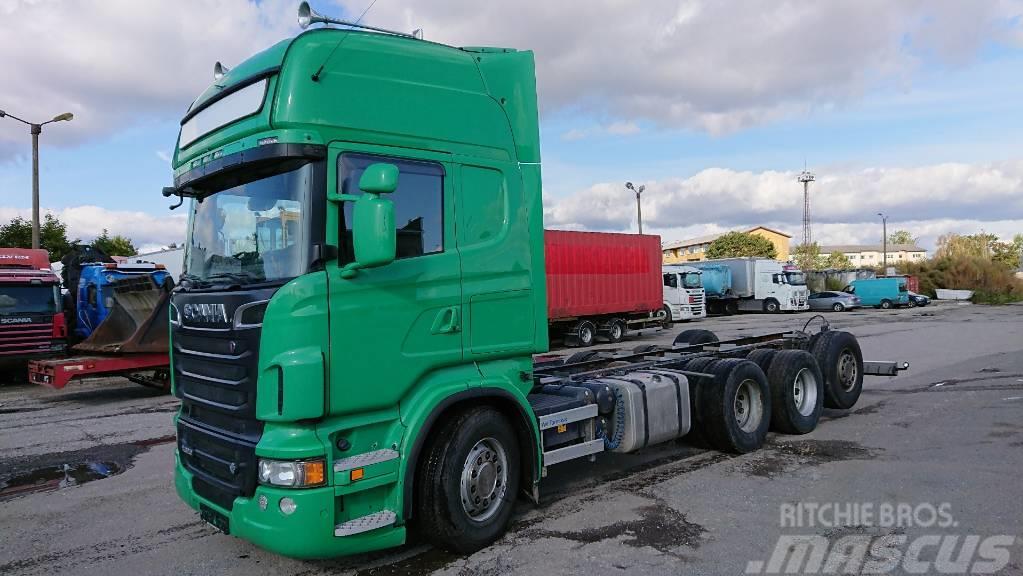 Scania R620LB8X4*4HNB tridem with compressor,RETARDER