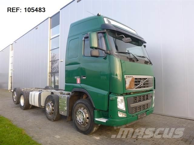 Volvo FH500 8X2 CHASSIS GLOBETROTTER EURO 5