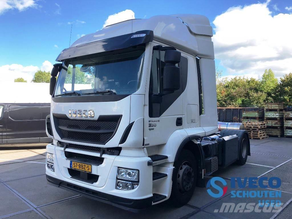 Iveco Stralis AT440S33T/P LNG / CNG 2013 Intarder Mautvr
