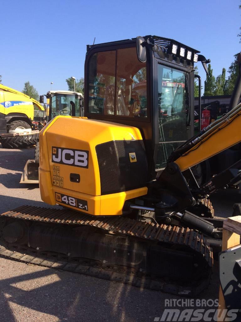 JCB 48 Z-1 inkl rotortilt&skopor Ny!!
