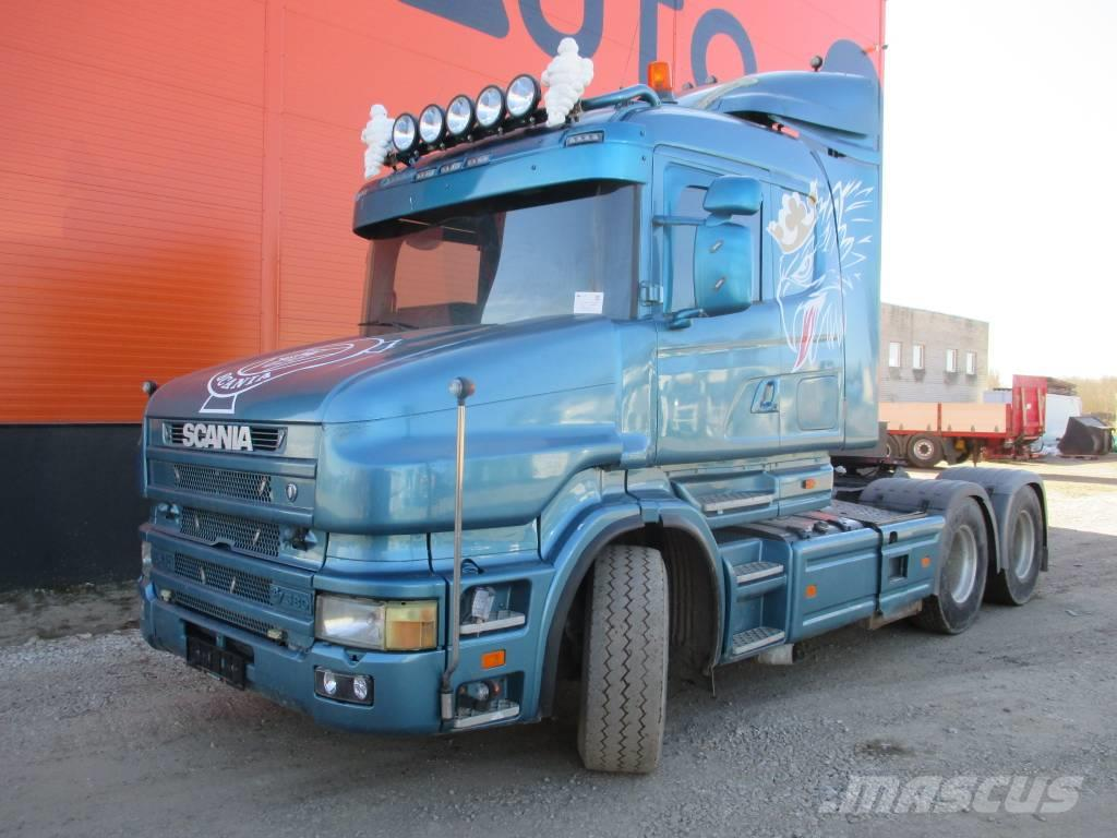 Scania T 164 6x4, Hydraulics, Manual, Torpedo