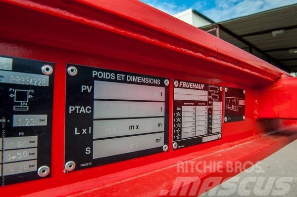 Fruehauf 40 containerchassi 40' containerchassi 34 TON 20', 2015, Containertrailer