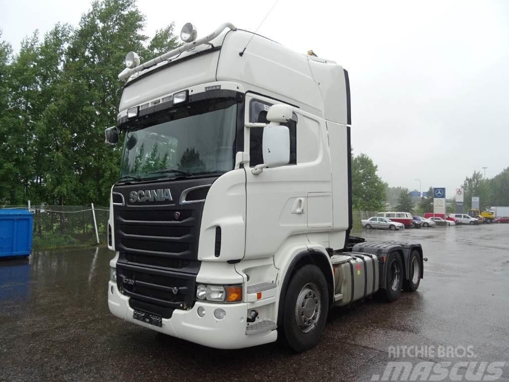 Scania SCANIA R730 6X2 vetopöytäauto
