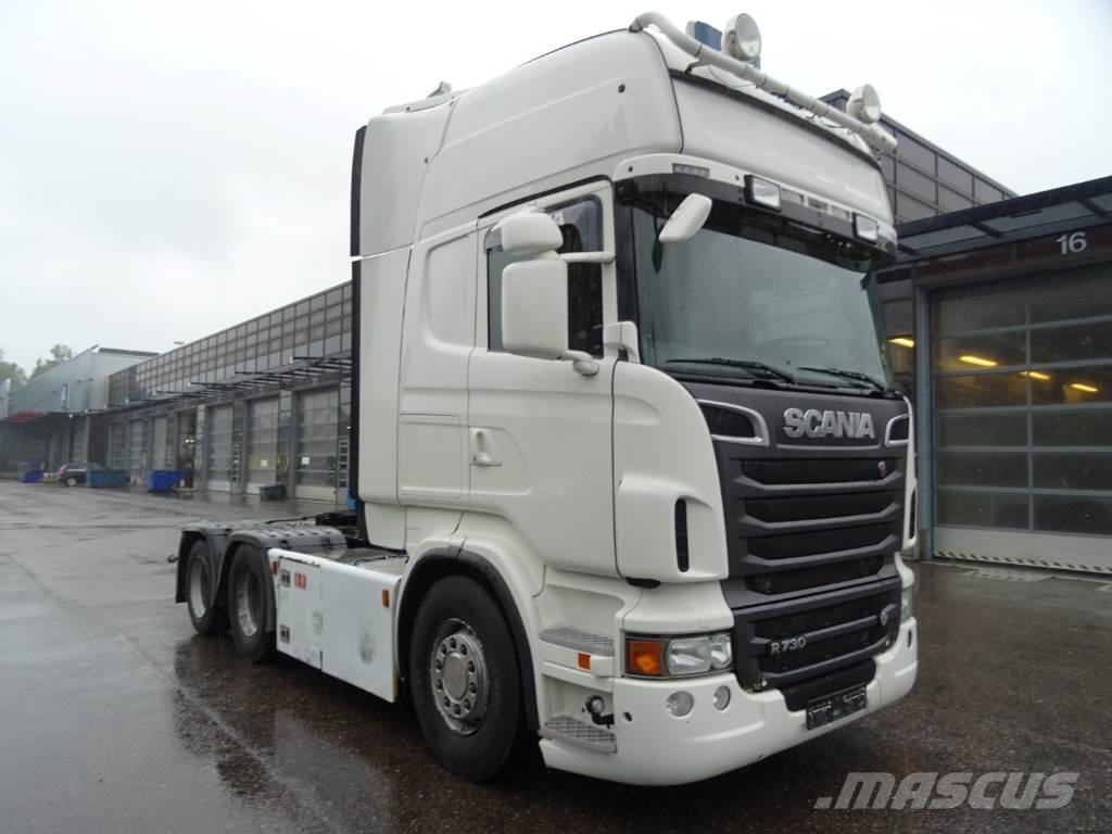 Scania SCANIA R730 6X2 vetopöytäauto, 2012, Dragbilar