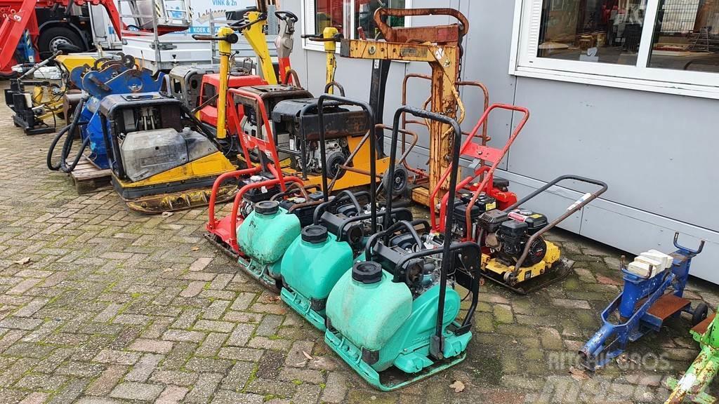 Wacker Neuson div. trilplaten benzine en diesel