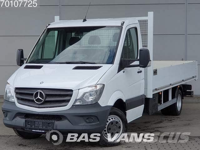Mercedes Benz Sprinter 516 Cdi 160pk Open Laadbak Airco Cruise T 2017 Pickup