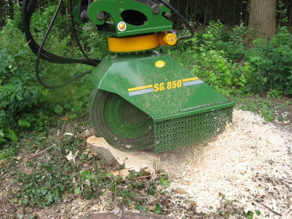 Dutch Dragon SG850 Stobbenfrees, Stump Grinder, Stubbenfräse