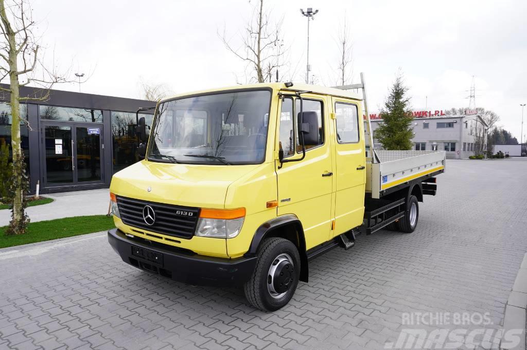 Mercedes-Benz VARIO 613D , 4x2 , 60.000km , DOKA 7seats  box 4m