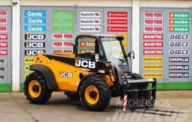 JCB JCB 524 - 50  4x4x4 - 5.3m / 2.4t. - Zusatzhydr.