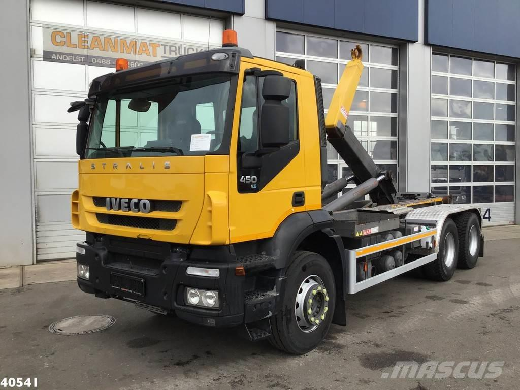 Iveco Stralis AD260T45 6x4 Manual Full steel