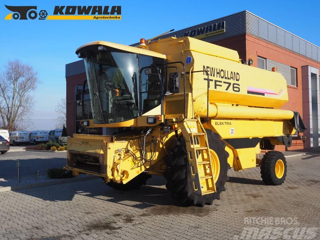 New Holland TF 76 Elektra + 6,1 m