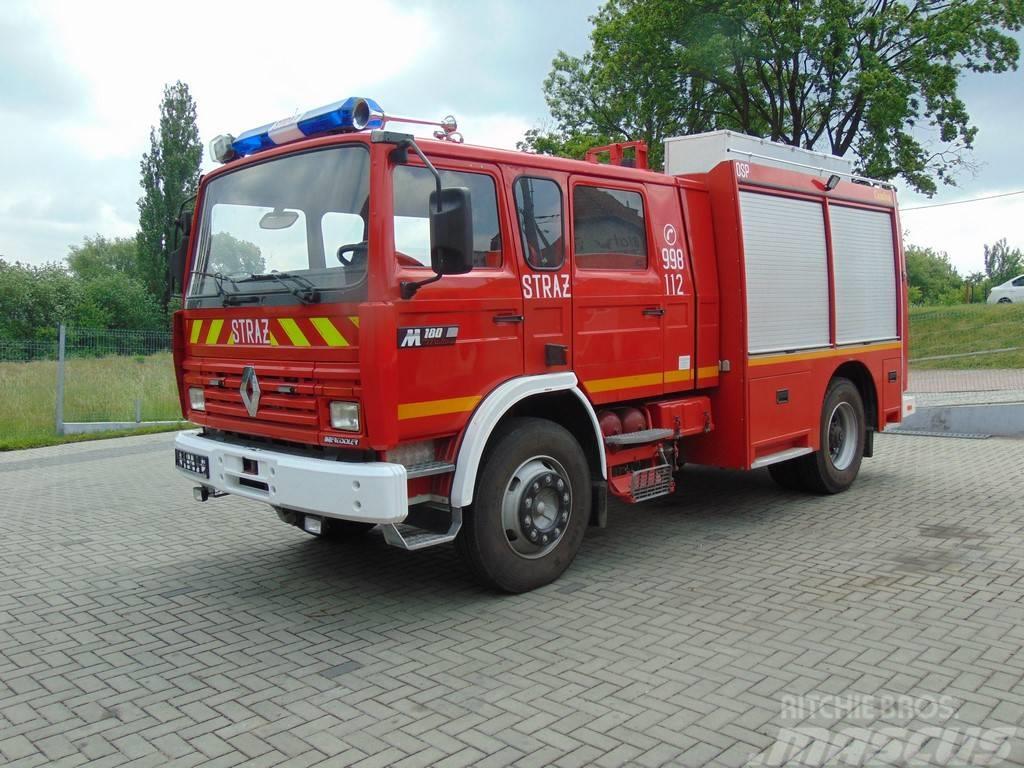 Renault Midliner M180 GBA 3/16 Camiva Pompier Fire Truck