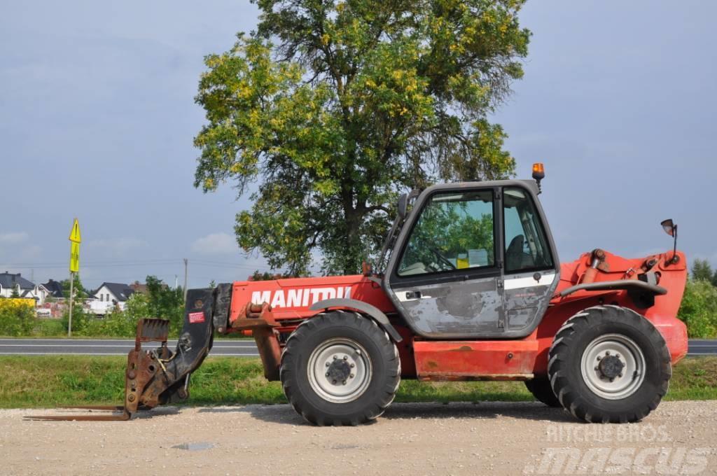 Manitou MT 1435 SL WYSIĘG 14 METRÓW UDŹWIG 3500 kg WIDŁY