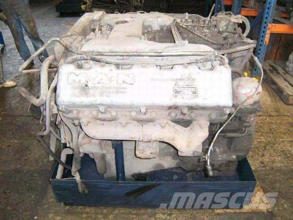 Man D 2858 MX - 8 Zyl. V-Motor - 304 PS D2858MX