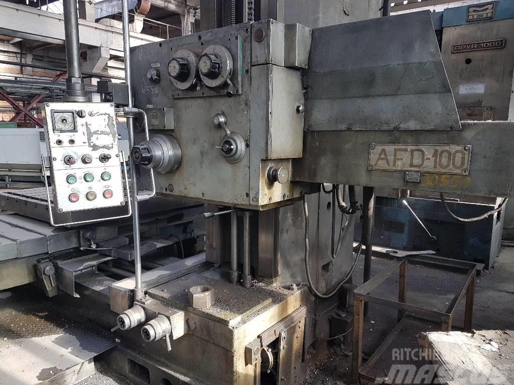 [Other] Masina de alezat si frezat AFD-100