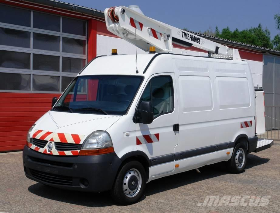 Renault Master Hubarbeitsbühne 12m TÜV UVV!